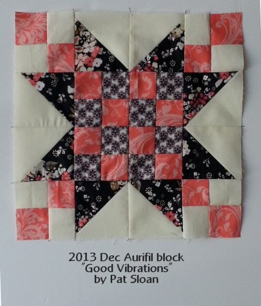 Pat Sloan Aurifil 2013 Dec Block