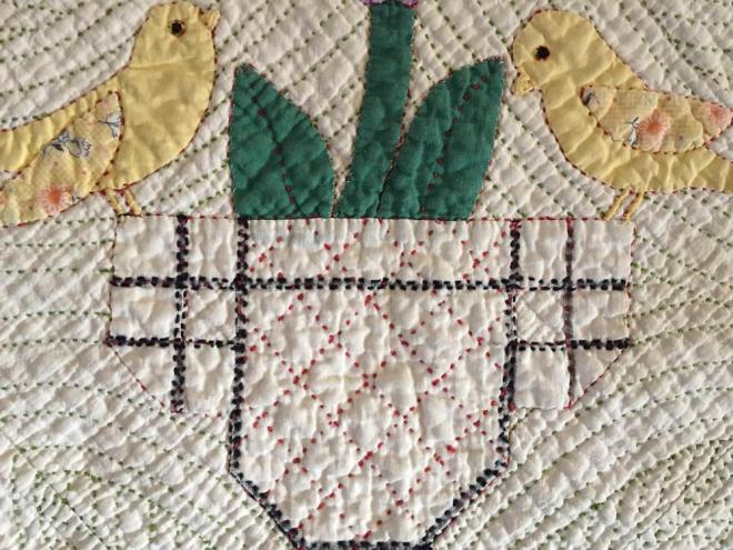 #2 Nanny's Quilt detail