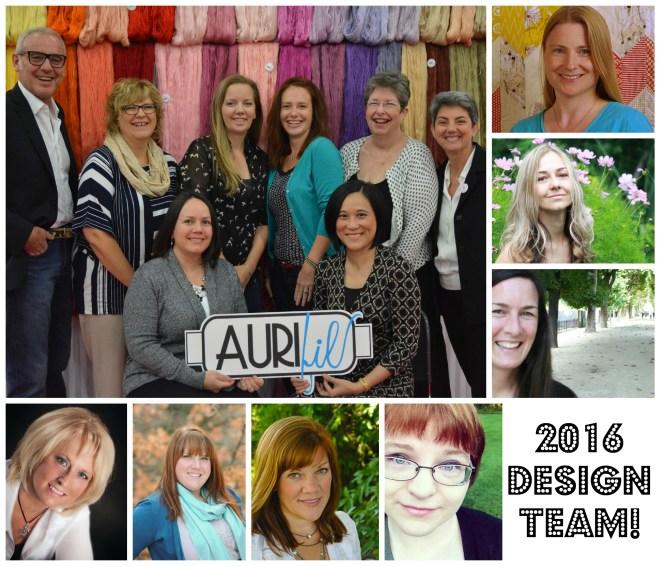 Aurifil 2016 Design Team photo