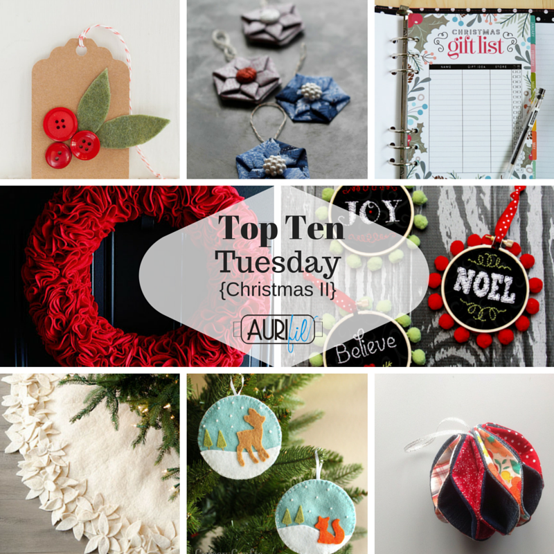 Top Ten Tuesday Christmas II