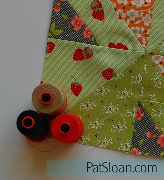 pat sloan peek at aurifil block 4