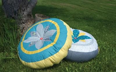 Petal Panache Pillows by Schlosser Designs