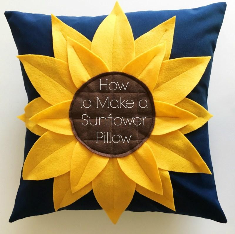 Sunflower-Pillow-Title