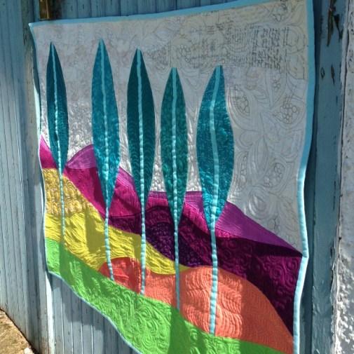 Shangri La Farm Sherbet Quilt by Jo Avery