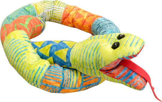 Silly Scrap Snake by Funky Friends Factory