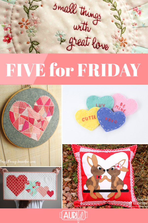 five for friday - 1-18-2019