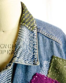 Boro Sashiko Jacket - - by The Shibaguyz