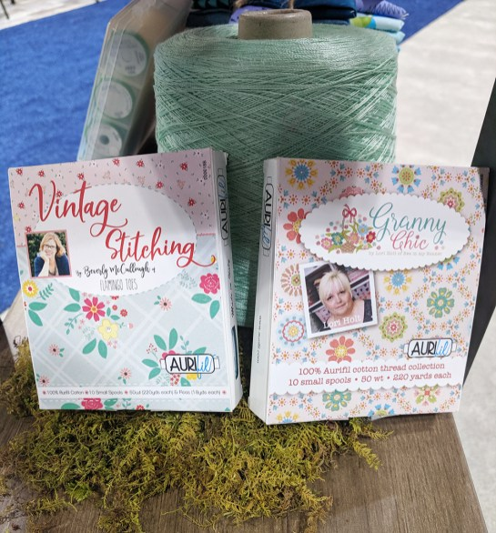 Vintage Stitching || Beverly McCullough AND Granny Chic || Lori Holt