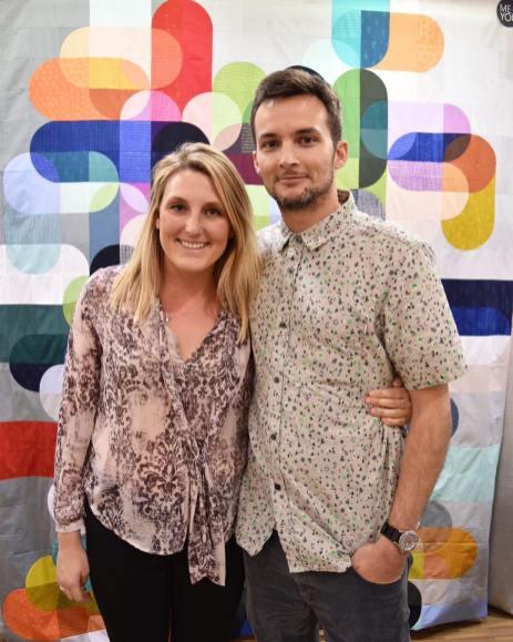 Hailey & Aaron - via @hoffmanfabrics