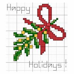 July 16 - Happy Holidays Mistletoe