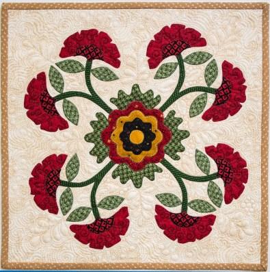Carnation Block by Annie Smith
