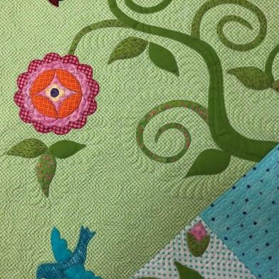 Details of Garden Delights by Annie Smith