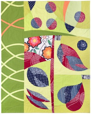 Leaf and Berry by Patricia Belyea