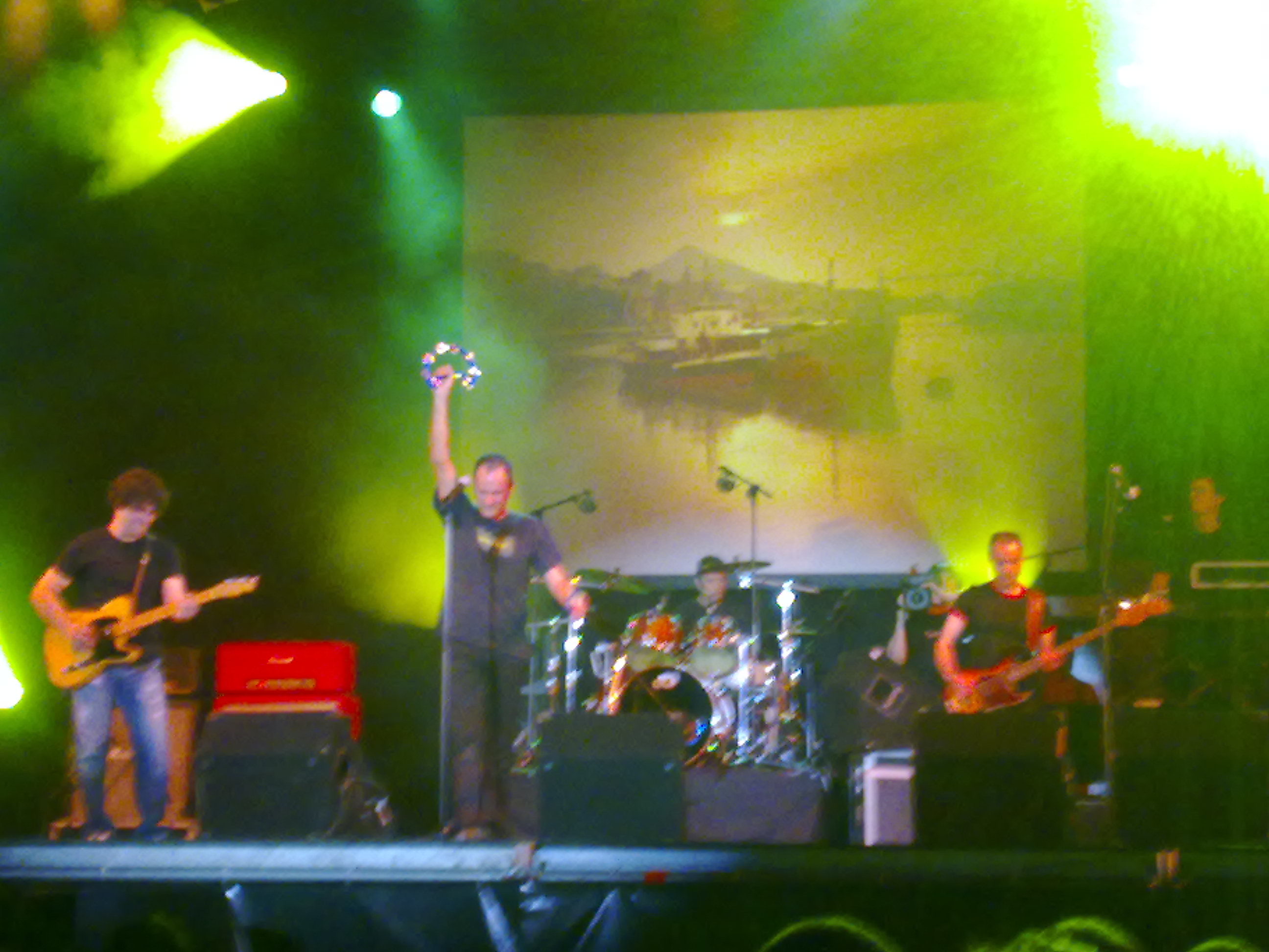 Zarama en directo ayer en Bilbao