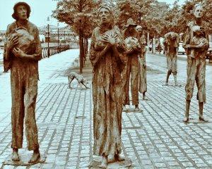 Dublin Famine sculpture