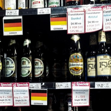 German beer in Australia