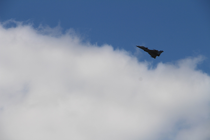 12 - Salon du Bourget 2017 - Rafale en vol - Dassault - Au'riginalité