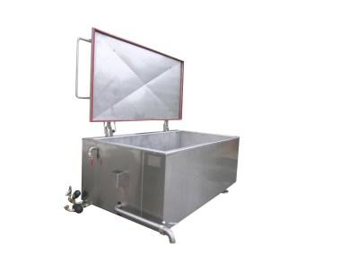 Marmite industrielle rectangulaire vapeur auriol SA
