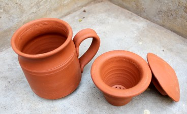 Mug with filter