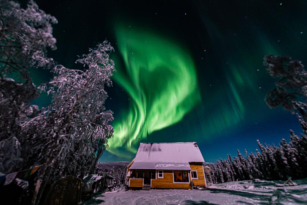 Aurora Heart Valentine cabin
