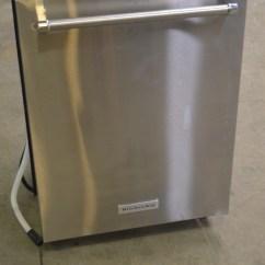 Kitchen Aide Dishwasher Best Flooring Kitchenaid Kdte104ess 24 Quot Stainless Tall Tub Built In