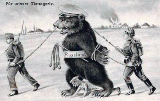 Краткая история антирусской пропаганды Запада