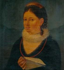 Filippo Morini - Ritratto di Rosalia Albicini - Sala del consiglio