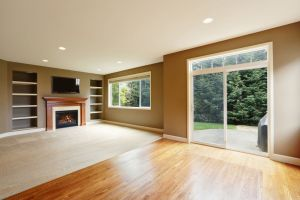 Basement Fireplace Refinishing