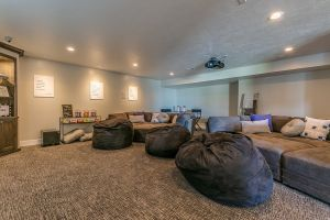 Get The Ball Rolling Basement Finish Movie Theater