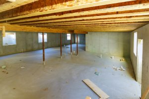 residential basement remodeling insulate walls