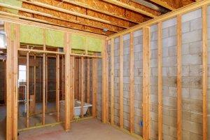 basement remodel start with waterproof walls