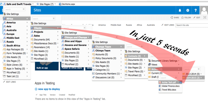 SharePoint Explorer View