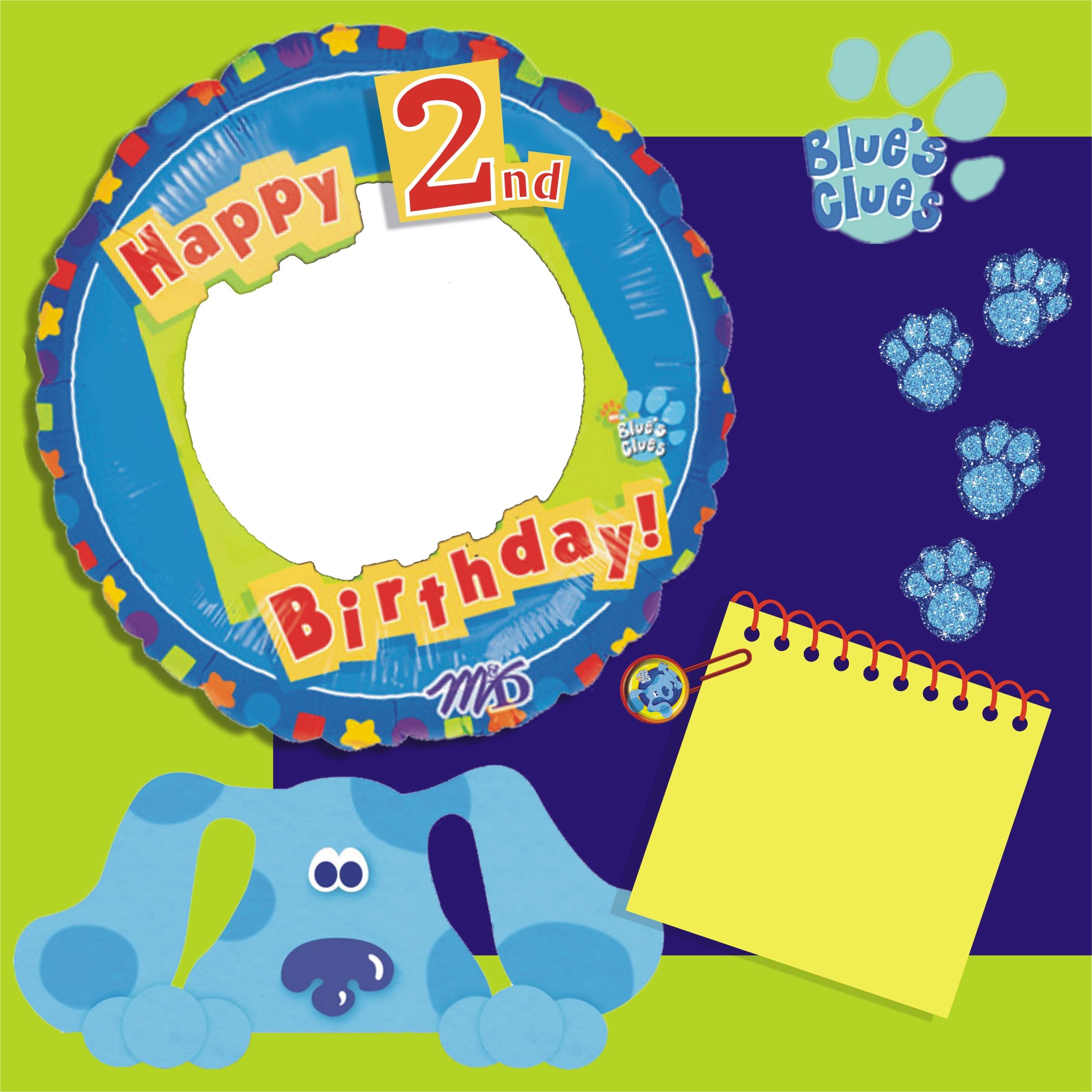 blue s birthday boy