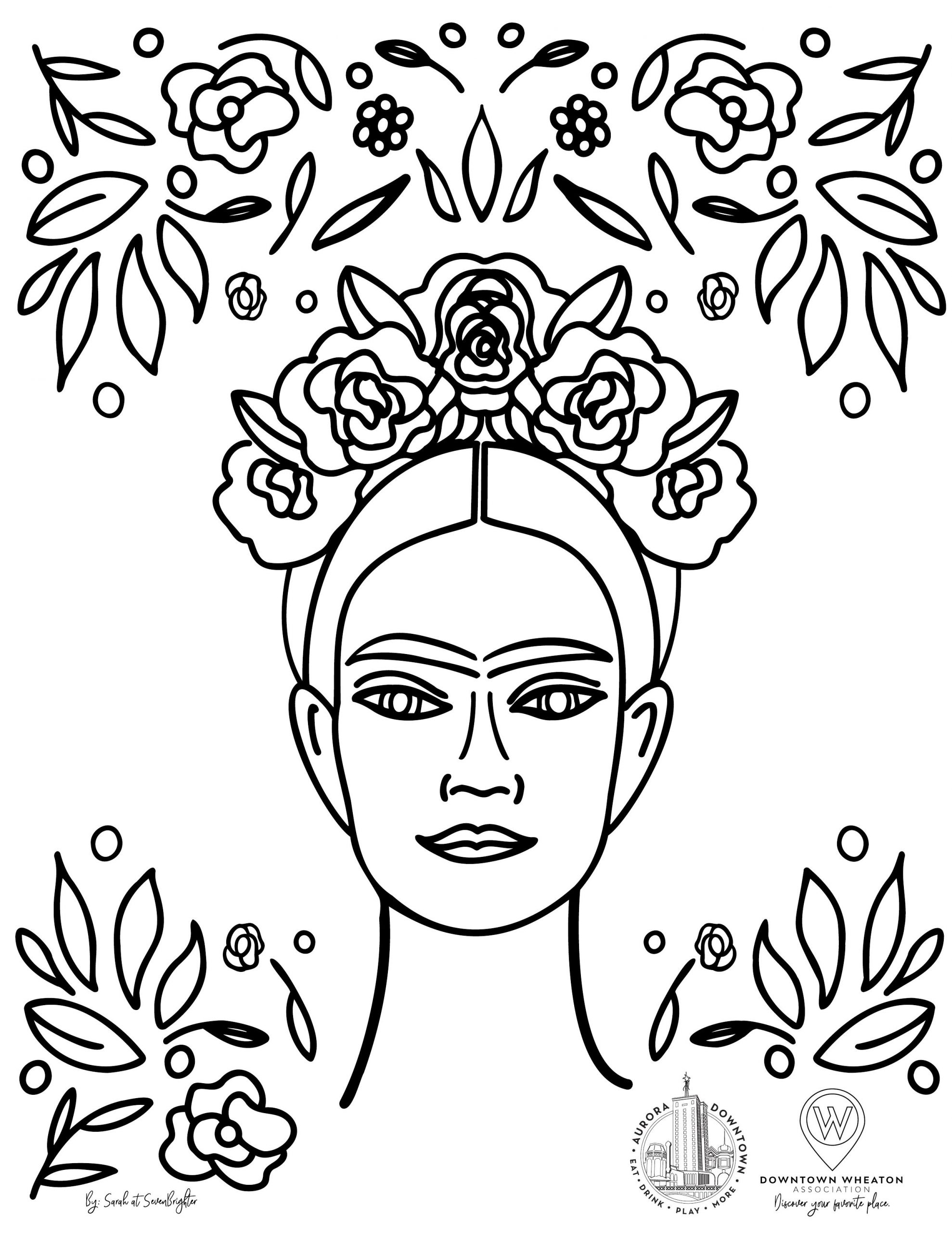 """Find Frida"""" coloring page project comes to Aurora » Aurora"""