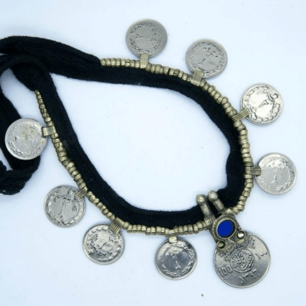 Persian Dancing Coin Necklace