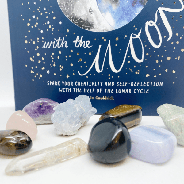 Moon Box, everything you need to create powerful rituals & healing around the Full & New Moon cycles
