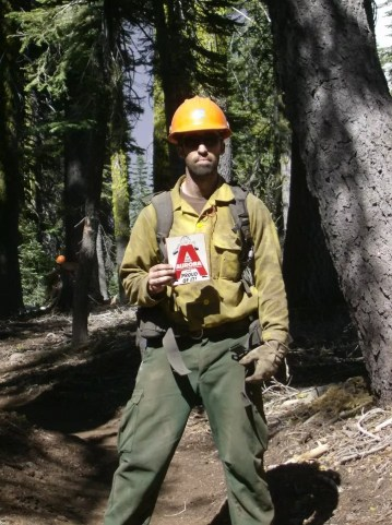 Firefighter Chase Jones on the Pacific Crest Trail, CA 2012