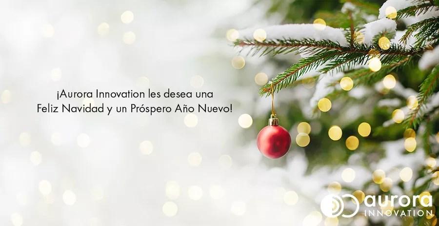 feliz navidad aurora innovation