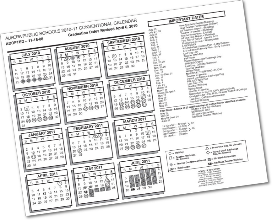 2015-16 Calendar Now Available