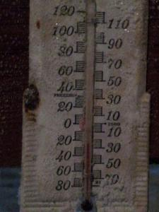 This is a normal temperature in the winter in Fairbanks.