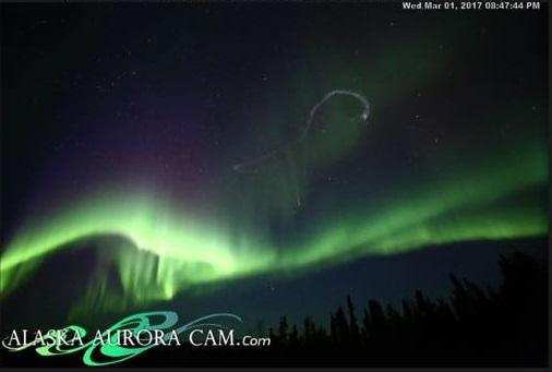 Northern Lights Fairbanks Tonight