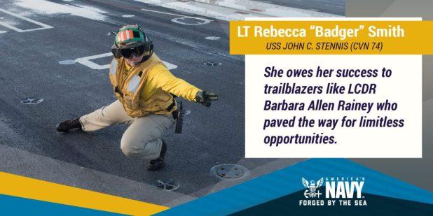 "Lt. Rebecca ""Badger"" Smith"