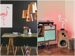 déco-flamand-rose-salon-luminaire