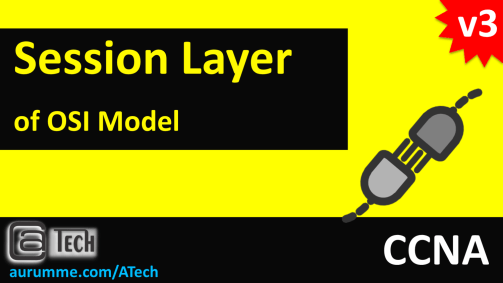 OSI Model - Session Layer, ATech, Waqas Karim
