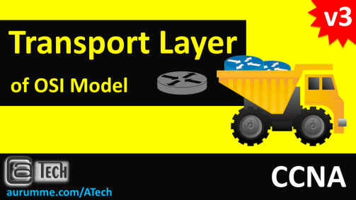 OSI Model - Transport Layer, ATech, Waqas Karim