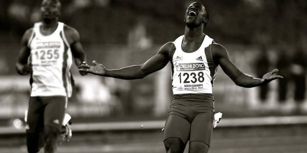 Leon Baptiste 200m Commonwealth Champion