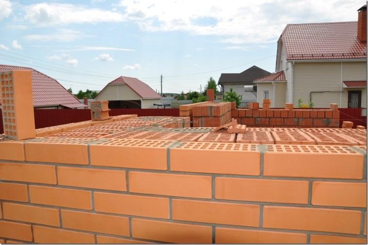 Кирпичный фасад фото