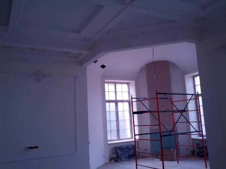 Процесс отделки дома на Рублёвке в Барвихе
