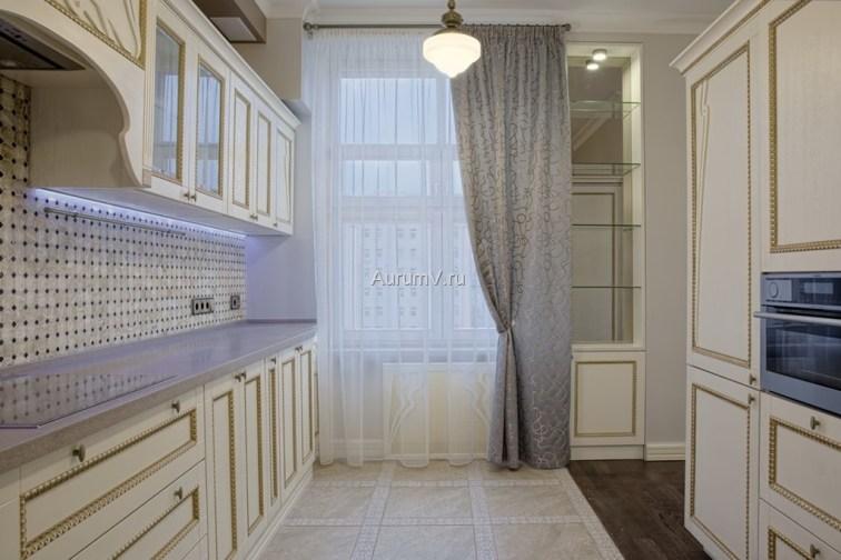 Фото ремонта кухни под ключ в классическом стиле