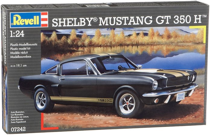 Mustang - maquette Revel 1:24